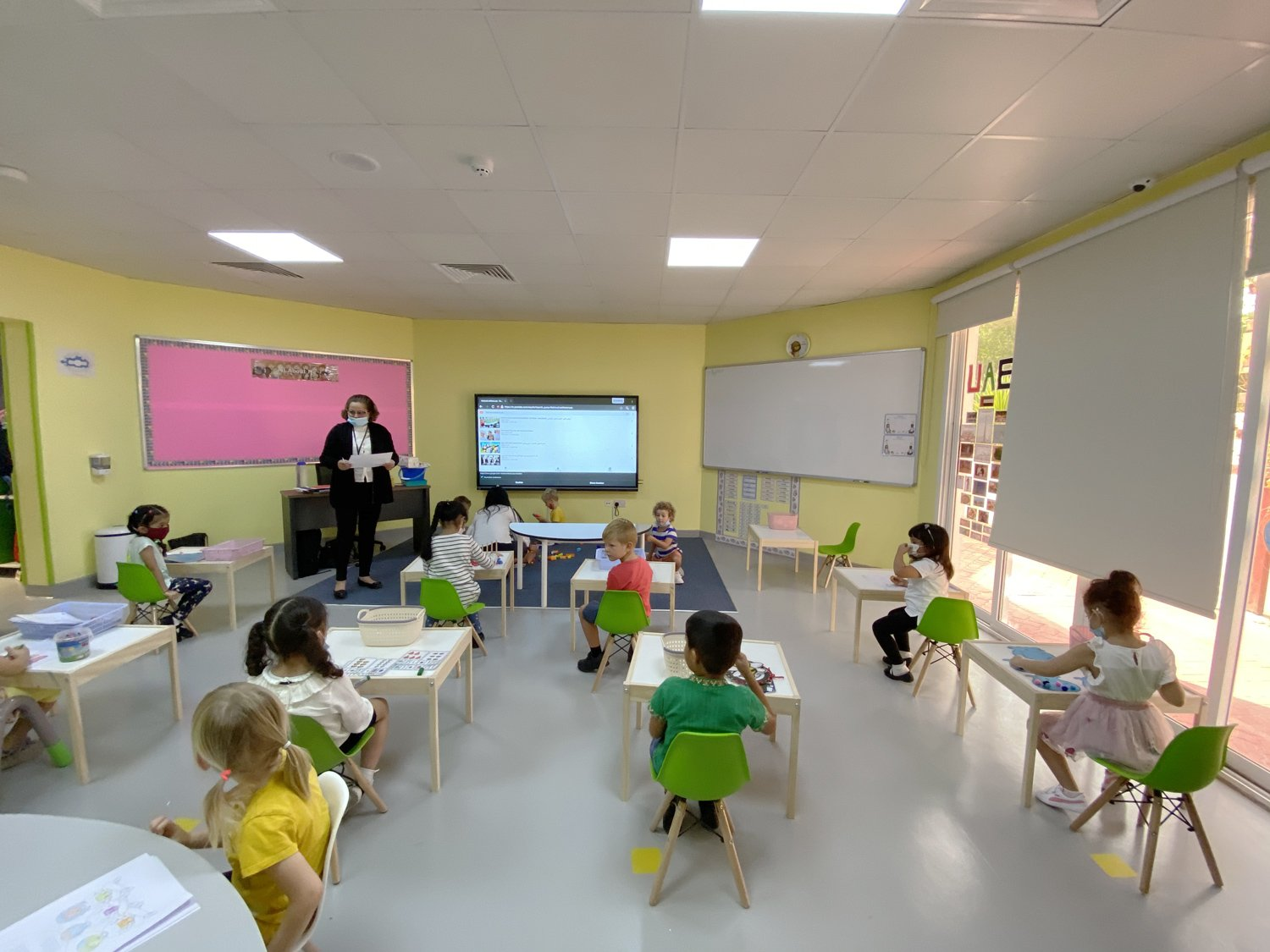 Ghaf Primary School - Learning Environment