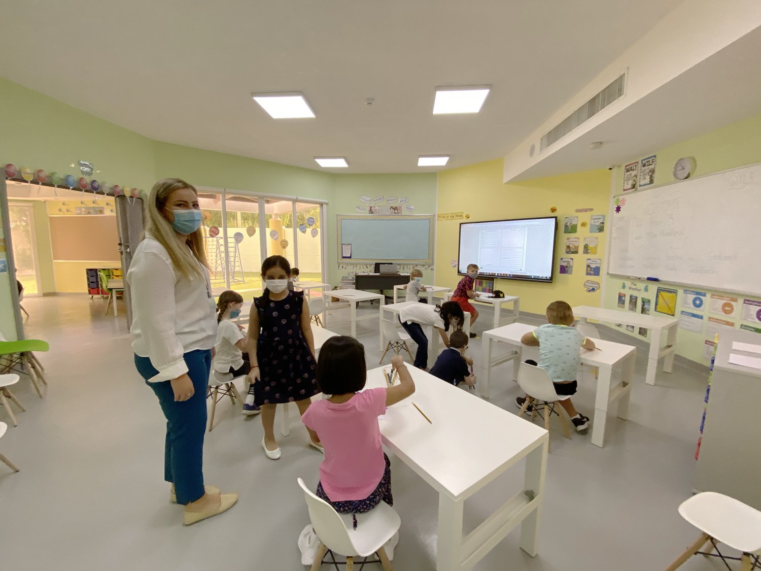 Ghaf Primary School - Students Learning Environment